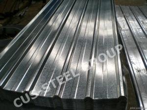 Galvanisé à chaud Spangle ordinaire de feux de plaque de tôle en acier de toiture en zinc