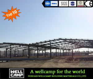 Taller de chapa de acero utilizado Edificio de estructura de acero