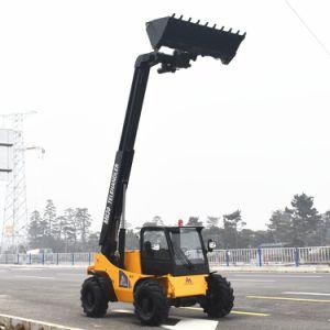 Empilhador Telescópico 4X4 Hidrostática Construction Machinery utilizada 3ton carro telescópico