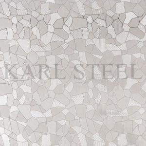 装飾材料のためのステンレス鋼の銀のカラーによって浮彫りにされるKem002シート