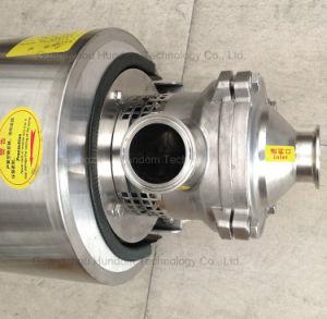 Acero inoxidable de alta calidad SS304/SS16 Bomba de cebado automático de Calidad Alimentaria