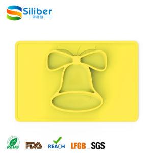 FDAの承認の赤ん坊の滑り止めの挿入のゴム製マット