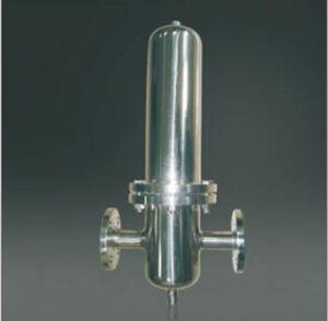 Certificado CE de grado sanitario Ss 316/304 caja del filtro de gas
