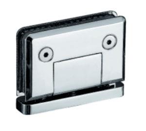 Chuveiro de aço inoxidável 90 graus da dobradiça da porta de vidro
