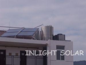 Haut Bas Prix Qaulity couleur vide d'acier tube collecteur solaire