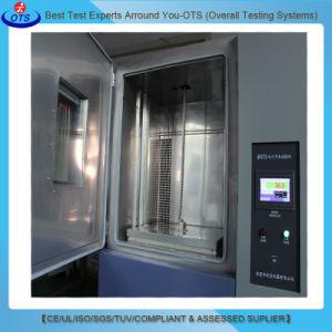 A temperatura fria quente ambiental andar de choque térmico da câmara de ensaio de colisão
