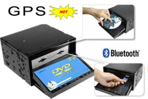 7 pulgadas de doble DIN DVD GPS Bluetooth