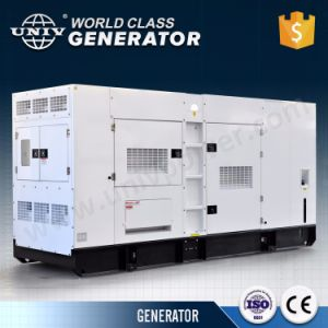 Конструкция Denyo Perkins с Стамфорд 250ква бесшумный дизельный генератор