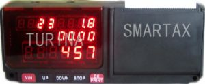 Taxímetro con impresora LED