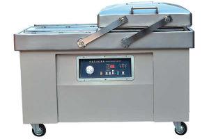 Máquina de Embalagem Chamber-Vacuum duplo/Alimentos à base de carne