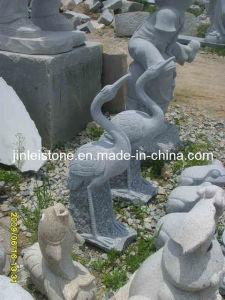 Natuurlijk Graniet/het Marmer Gesneden Beeldhouwwerk van de Steen voor Tuin/OpenluchtDecoratie