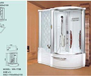 Cabina de ducha de vapor computarizado (WN-170B)