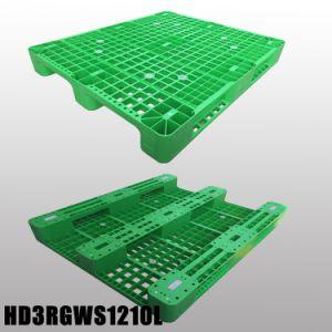Heavy Duty de reciclaje Retornable Deck sólido los palets de plástico de HDPE 1210