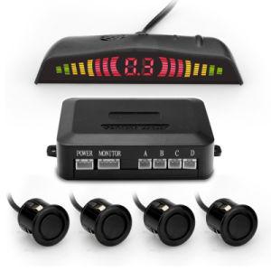 Auto Car детектор дисплей СВЕТОДИОДНЫЙ ИНДИКАТОР парковочный датчик заднего хода системы монитора радара резервного копирования с 4 датчиками
