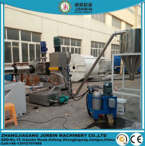 PET Entwässerung-Rohr, das Machinery/PE Entwässerung-Rohr-Granulierer-Maschinerie pelletisiert