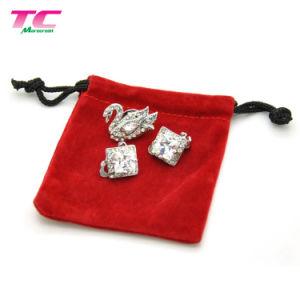 12 X 10cm de terciopelo personalizados Bolsas de regalos de joyas Joyas de Stock Set DIY de la bolsa de embalaje de regalo