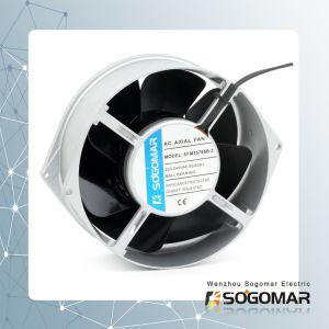 Высокая производительность 172X150X55мм металла осевых вентиляторов 220V 50Гц 37W