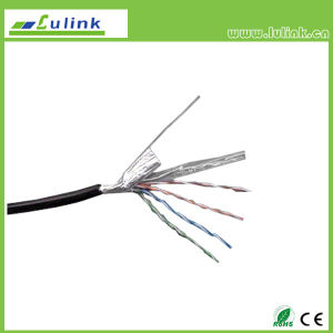 Cat5e ftpfestes angeschwemmtes Multi-Strand LAN-Netz-Kabel