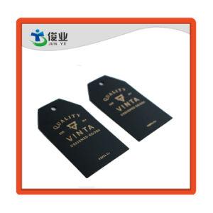 fait sur mesure de la Chine Jeans pendre des balises pour les vêtements de papier