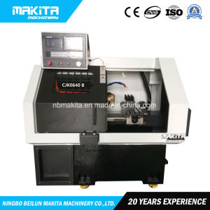 Cjk0640b Qualitäts-flaches Bett-harte Schiene CNC Drehen-Maschine