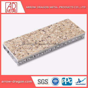 Pierre de granit léger en aluminium pour la colonne de Panneaux de bardage Honeycomb