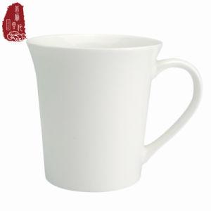Promotion Logo personnalisé blanc tasse à café en céramique vierge