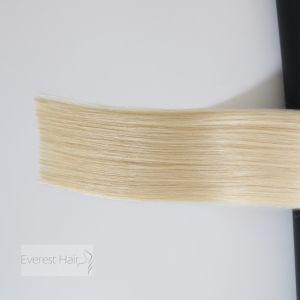 #1001 sedoso de la cutícula recto Virgen brasileño Remy extensiones de cabello humano.