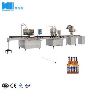 Kleinkapazitätsbier-Produktions-Maschinerie-Zeile für Verkauf vom Chinesen berühmt