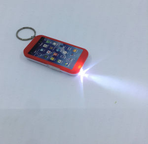 Mini lanterna LED Móvel Keyring lanterna