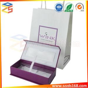 Цветных жесткая бумага косметические упаковки пользовательских магнитное поле