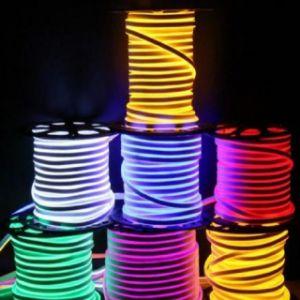 DC12V/24VのセリウムのRoHSの承認RGBW LEDの屈曲のネオンストリップ