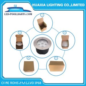 まっすぐなベース6Wによって引込められるプールライトIP67&IP68 LED地下の照明(HX-HUG165-6W)