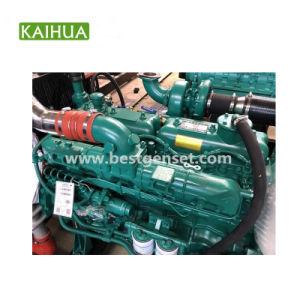 중국 상표 100kw Yuchai 침묵하는 유형 디젤 엔진 발전기 제조자