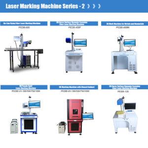 Marca de máquina de impresión UV de grabado de metales y Non-Metals