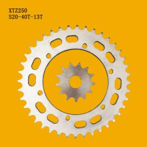Trattamento di superficie di placcatura del bicromato di potassio del materiale della Catena 1045 della ruota dentata del motociclo Xtz250