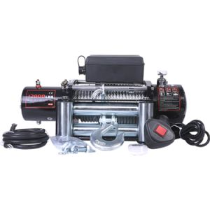 12000lbs 12V de la cuerda de acero inalámbrica off-road ATV y UTV Malacate eléctrico