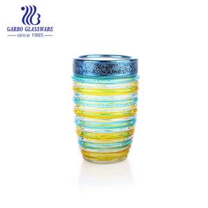 رذاذ لون مرطبان زجاجيّة مع زخرفيّة سدود مرطبان غطاء ([غب21221000ف-جب2])