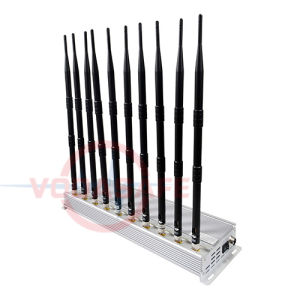 Bloqueador de Walkie Talkie Obstruindo-CDMA/GSM/3G2100MHz/4gltecellphone/Wi-Fi/Bluetooth/Vhfand UHF, rádio FM Interferidor Walkie-Talkie para venda