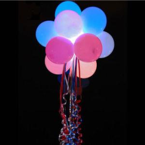 Weihnachtsdekoration LED, die aufblasbaren Latex-Ballon beleuchtet