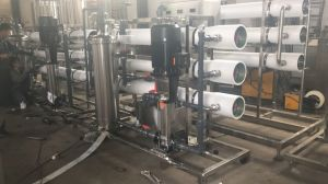 6000L/H SYSTÈME RO de l'eau par osmose inverse pour le remplissage de la machine de traitement