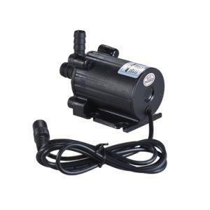 Pompe anfibie dell'OEM dell'acqua agricola senza spazzola economizzatrice d'energia di CC 12V per flusso 450L/H di ritorno dell'acqua dello stagno dell'acquario del serbatoio di pesci