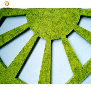 Het uit:hollen-uit Milieuvriendelijke Scherm van de Verdeling van de Vezel van de Polyester van het Decor van het Bureau