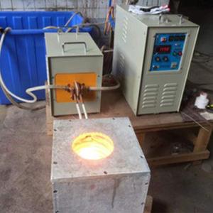 Indução eléctrica em latão Ouro prata cobre alumínio máquina de forno de fusão