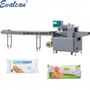 Haute qualité, des couches pour bébés automatique tissu humide essuyer l'emballage Machine d'enrubannage