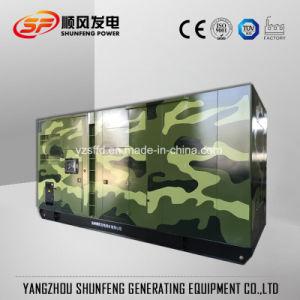640kw leiser Cummins elektrischer Strom-Dieselgenerator mit schalldichtem Kabinendach