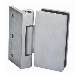 Aço inoxidável Conexões de patches de hardware do vidro para porta de vidro (GB-3002)