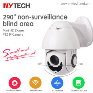 Mini Domo PTZ de vigilancia inalámbrica WiFi cámaras IP CCTV