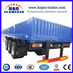 Wellen-seitliche Wand-Ladung des China-schwere Geräten-3/LKW-halb Schlussteil für Verkauf