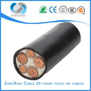 Isolamento de PVC Condutor de cobre flexível de baixa tensão do cabo do fio eléctrico