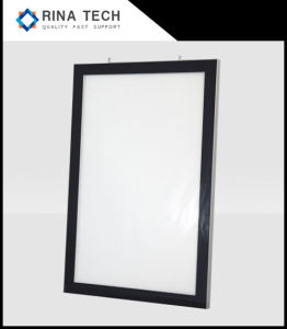 Bâti magnétique Boîte à lumière pour l'utilisation de la publicité